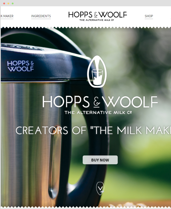 Hopps and Woolf homepage