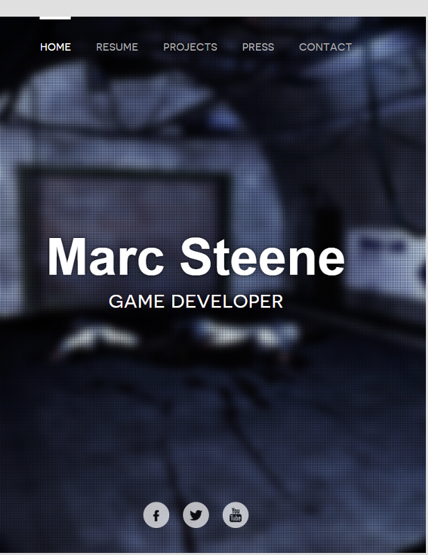 Marc Steene homepage